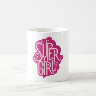 Supergirlの渦巻1 コーヒーマグカップ