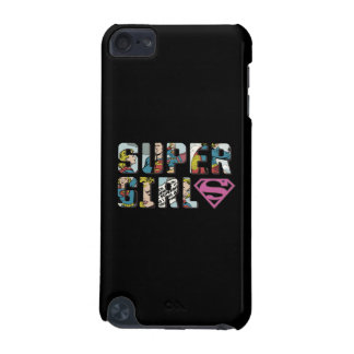 Supergirlの漫画のロゴ iPod Touch 5G ケース