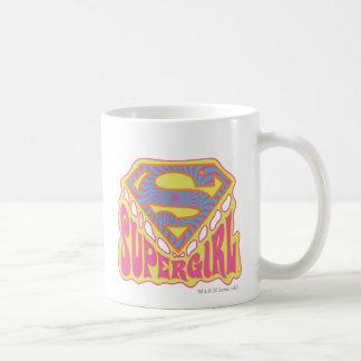 Supergirlの素晴しいロゴ コーヒーマグカップ