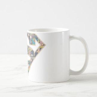 Supergirlの続きこま漫画のロゴ コーヒーマグカップ