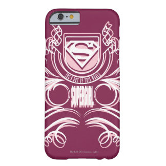 Supergirlの華麗さの設計 Barely There iPhone 6 ケース