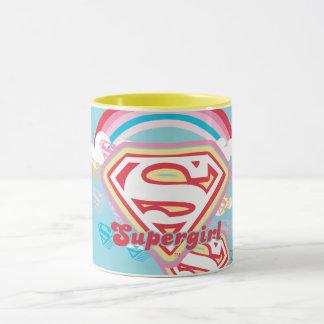 Supergirlの虹 マグカップ