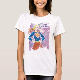 Supergirlの銀河系 Tシャツ