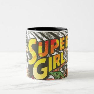 Supergirlの鎖 ツートーンマグカップ