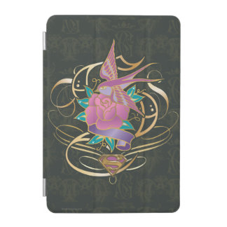 Supergirlの鳥および花 iPad Miniカバー