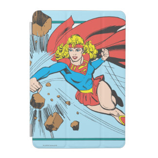 Supergirlは大きい石を破壊します iPad Miniカバー