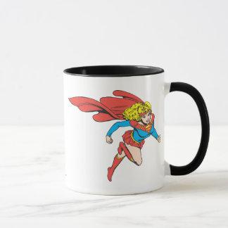 Supergirlは正しく跳躍します マグカップ