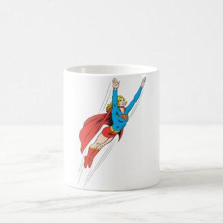Supergirlは高く上昇します コーヒーマグカップ