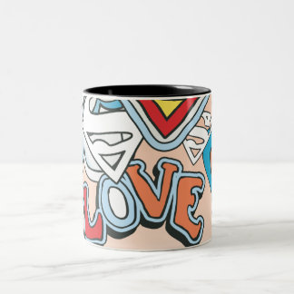 Supergirl愛 ツートーンマグカップ