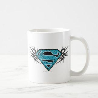 Supergirl種族パターンロゴ コーヒーマグカップ
