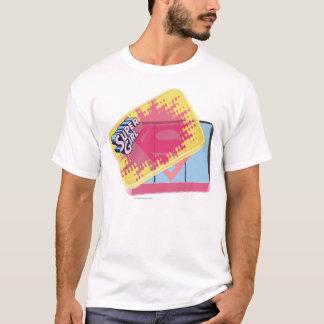 Supergirl箱 Tシャツ