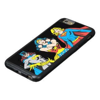 Superheroinesの姿勢 オッターボックスiPhone 6/6s Plusケース