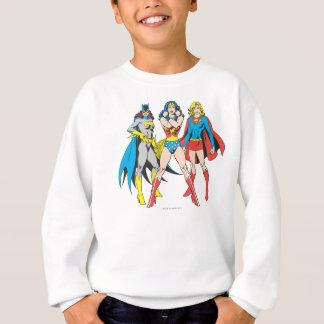 Superheroinesの姿勢 スウェットシャツ