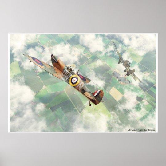 Supermarine Spitfire Mk.1 ポスター