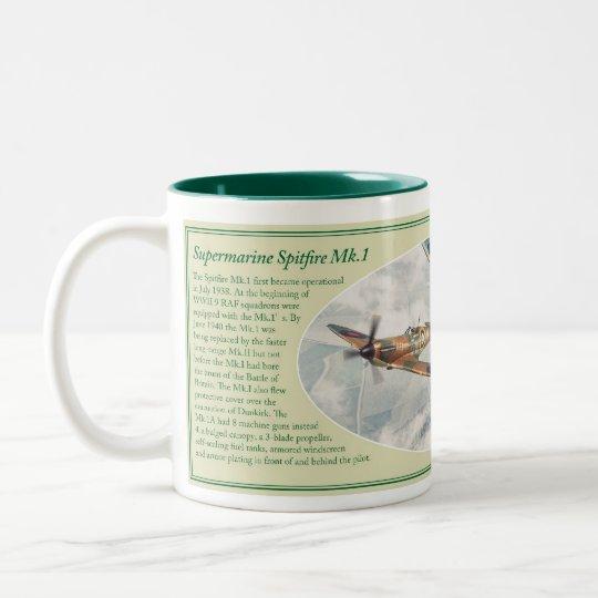 Supermarine Spitfire Mk.1 mug ツートーンマグカップ