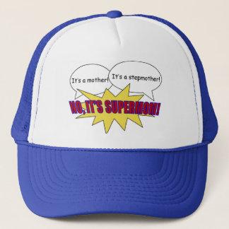 supermom、お母さん、義母の帽子 キャップ