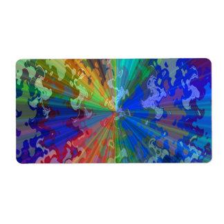 Supershine Bluerayのプリント: 芸術的な青い輝き ラベル