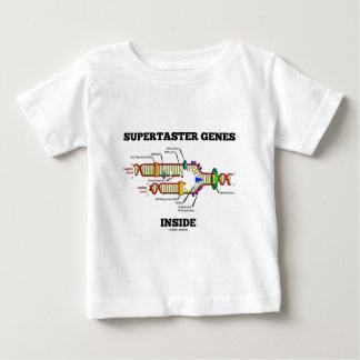 Supertasterの遺伝子の内部(DNAの写し) ベビーTシャツ