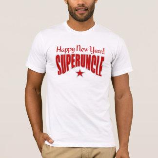 SUPERUNCLEの新年のワイシャツ-スタイル及び色を選んで下さい Tシャツ