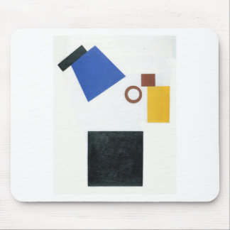 Suprematism。 二次元の自画像 マウスパッド