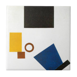 Suprematism。 2つの次元の自画像 タイル