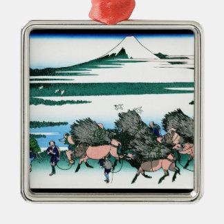 Suragaの地域HokusaiのOno Shindon メタルオーナメント