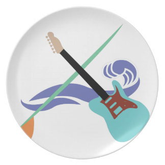 Surfin音楽 プレート