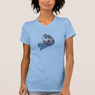 Surfmaid (淡いブルー) tシャツ