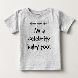 Suriに、私ありますも有名人のベビーが動かして下さい! ベビーTシャツ
