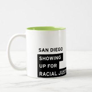 SURJサンディエゴのマグ-ツートーンライムグリーン ツートーンマグカップ