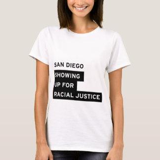 SURJサンディエゴの白人女性のティー Tシャツ
