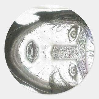 SurrealArtの版権2012年 ラウンドシール