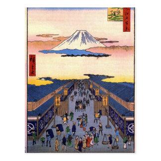 Suruga-chō ポストカード