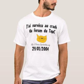 Survecuのauの衝突 Tシャツ