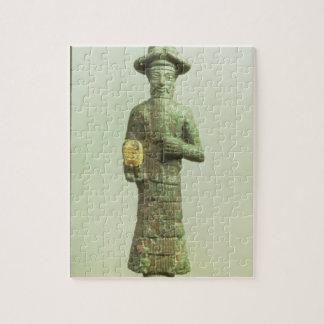 Susa、Southwesteからの金手を搭載するElamiteの神 ジグソーパズル