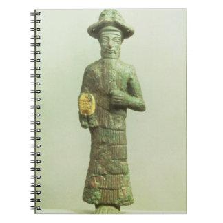Susa、Southwesteからの金手を搭載するElamiteの神 ノートブック