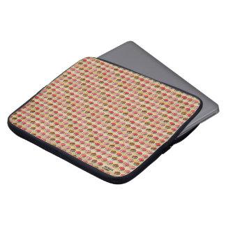 SUSHI CUBE [type 01] Laptop-Sleeve / 寿司柄ラップトップスリーブ ラップトップスリーブ