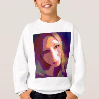Susieのポップアート スウェットシャツ