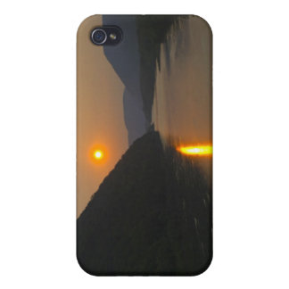 Susquehanna川ペンシルバニア上の日没 iPhone 4/4S Case