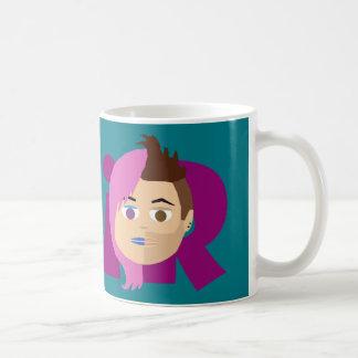 SuziおよびジェイのiRandomnessnationのマグ コーヒーマグカップ