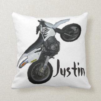 Suzuki DRの土のバイクのオートバイの枕 クッション