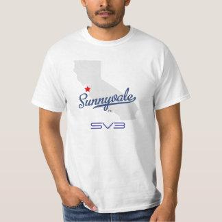 SV3 - Sunnyvaleのイベント第3年次BBQのTシャツ Tシャツ