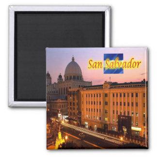 SV -エルサルバドル-サンサルバドルの歴史的中心 マグネット
