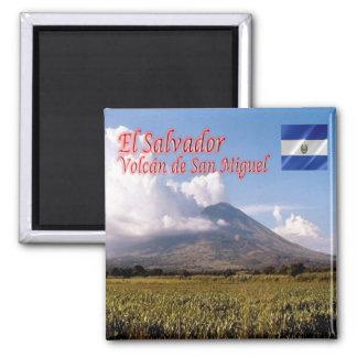 SV -エルサルバドル-火山サン・ミゲル マグネット