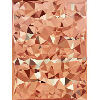 Geometric Pattern | Pink and Peach Triangles