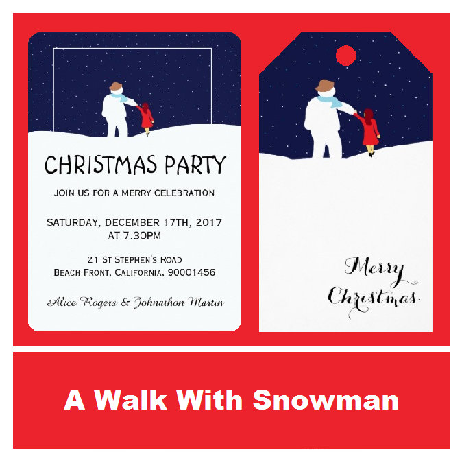 A Walk With Snowman