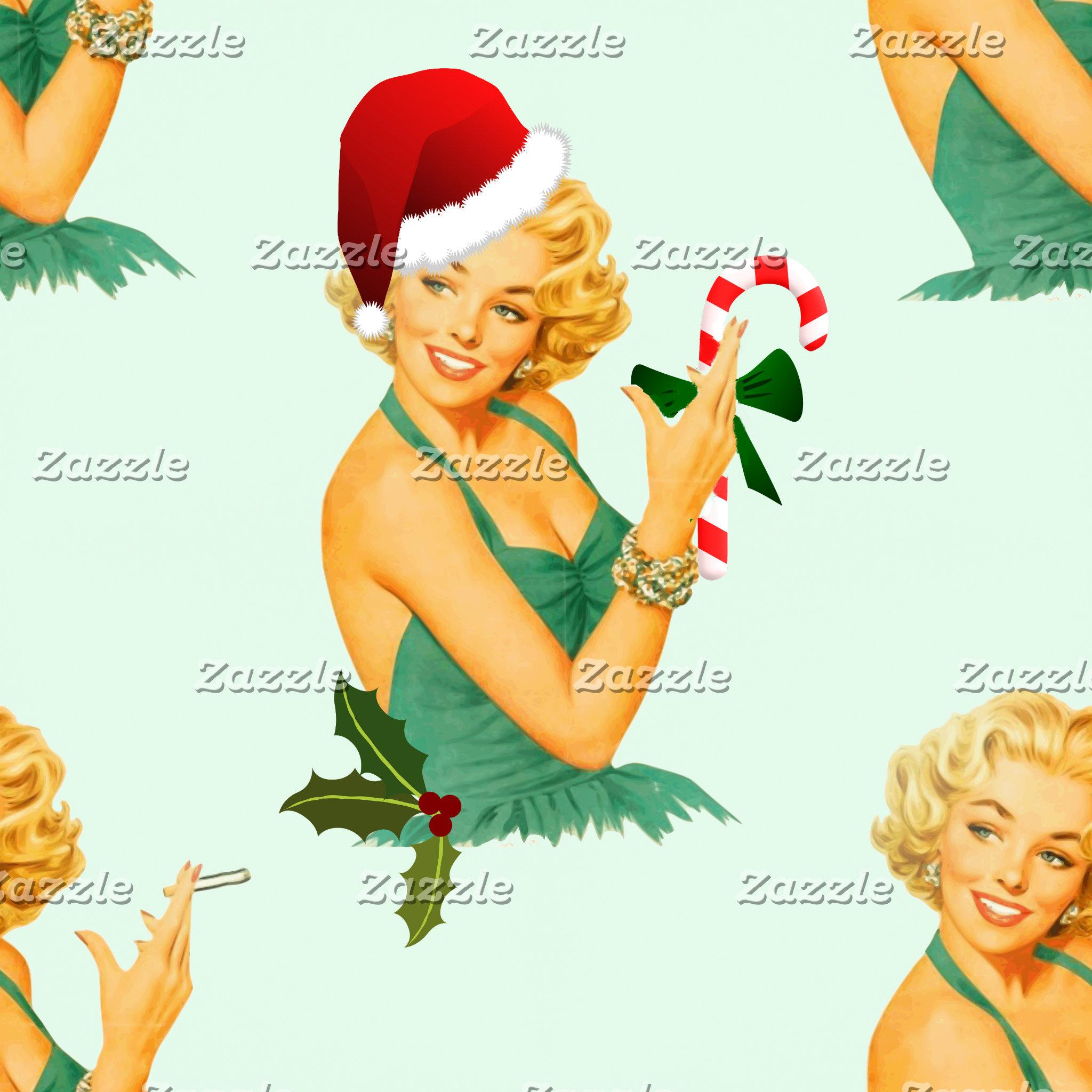 2 vintage christmas