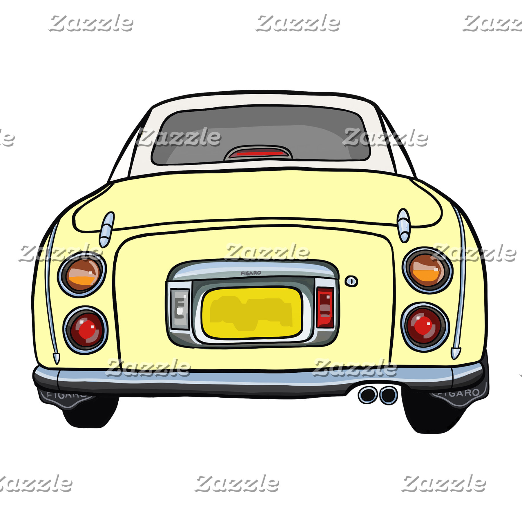 Yellow Figaro Car