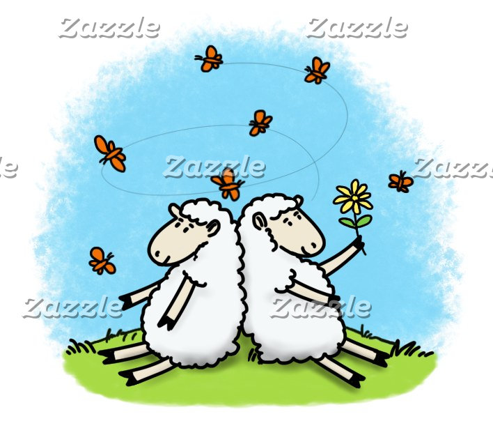 Sheep cartoons.