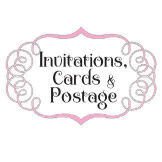 Invitations, Cards, & Postage